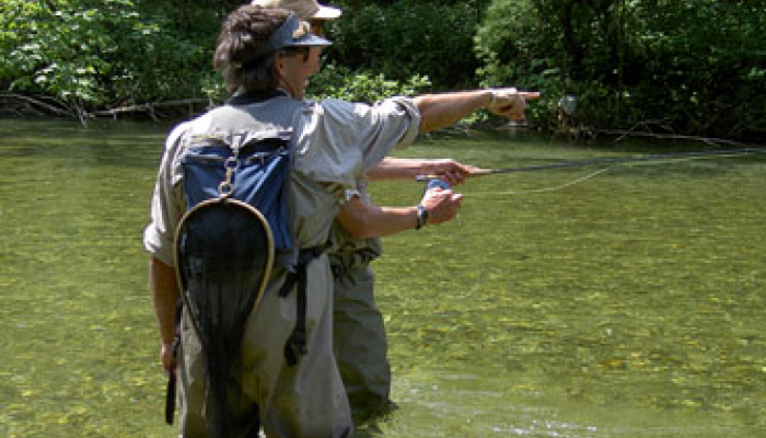 VIP Fly Fishing Guiding Günter Feuerstein
