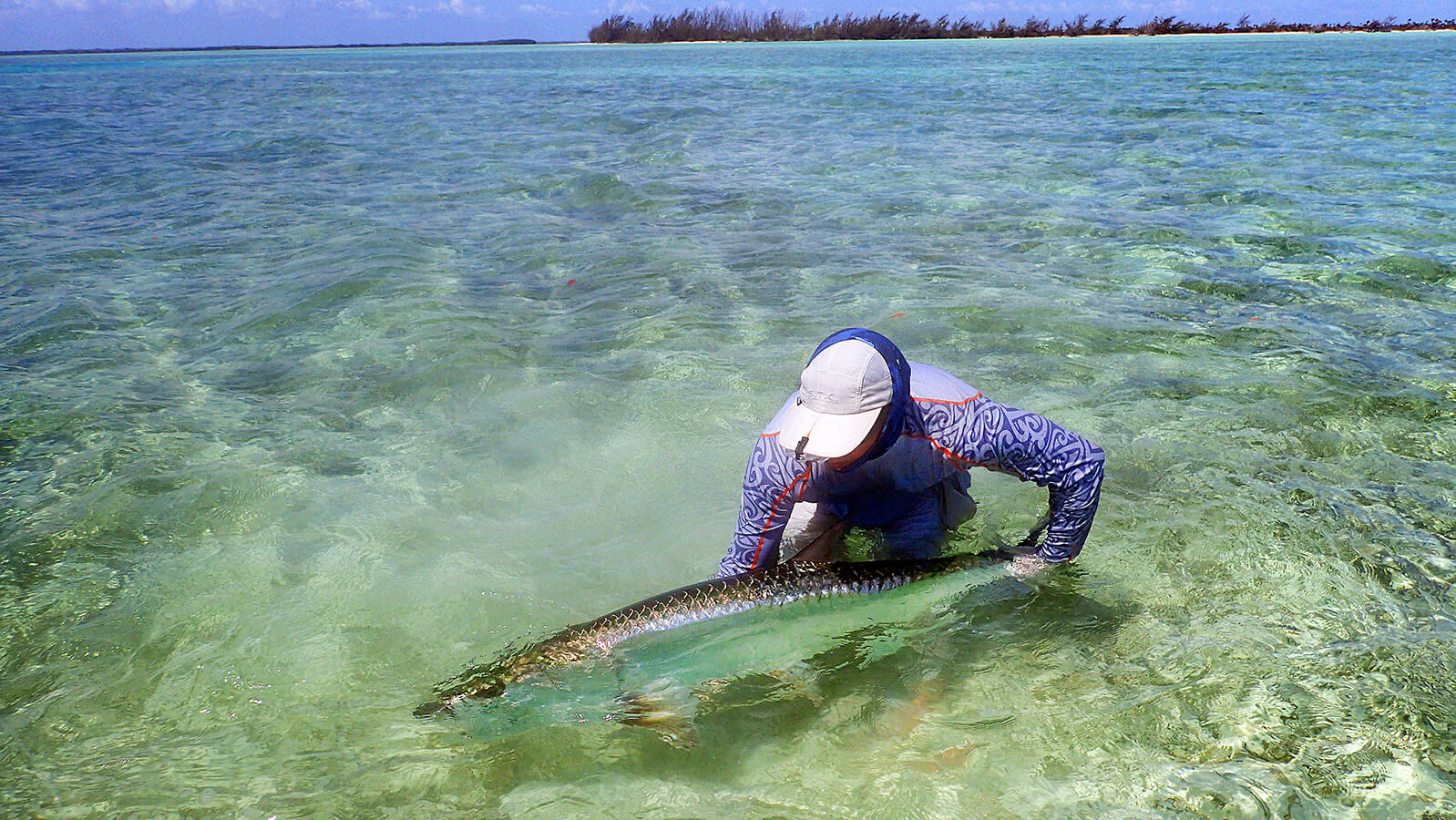 Giant Tarpon Günter Feuerstein saltwater fly fishing