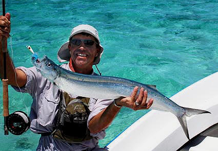 Mauritius fly fishing Guenter Feuerstein