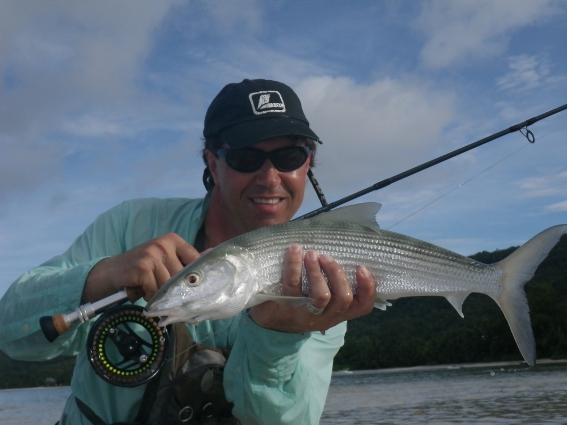 nice bonefish from Praslin