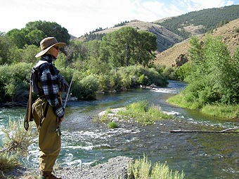 Fly Fishing Big Lost River