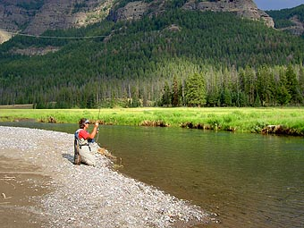 Fly Fishing Soda Butte River